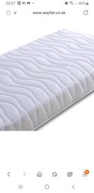 Single pocket sprung mattress
