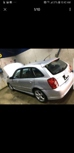2003 Mazda protege 5  4 new studded winter tires