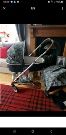 Mamas & Papas Urbo2 Special Edition Liberty pram and pushchair