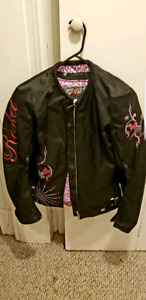 Womens armoured motorcycle jacket