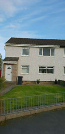 First Floor Two Bedroom Ellon Flat with Garage and Garden