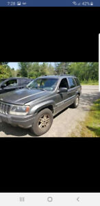 2003 Jeep Grand Cherokee for trade