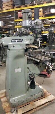 Bridgeport Series L Variable Speed Vertical Milling Machine Inv.37155