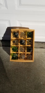 Wine rack with Crate