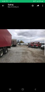 Truck Trailer Parking (Special for Bobtail and Dump trucks)