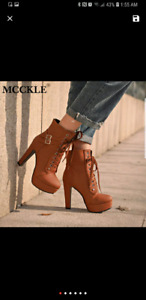 Ankle boots for women $60