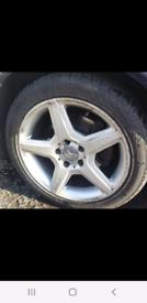 "17"" Mercedes-Benz wheels"