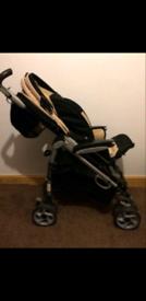 Brand new pushchair and pramette
