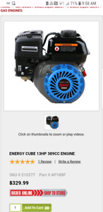 13 hp motor