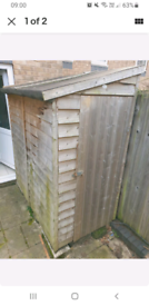 3FT Wide shed . W*NTED