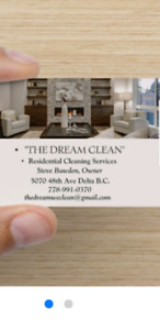 """THE DREAM CLEAN"""
