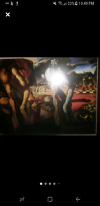 Large Oil on Canvas Paintings and Frames for sale