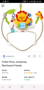 Sauteur Fisher Price Jumparoo