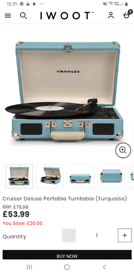 Vinyls and record player