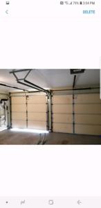2 8x7 garage doors