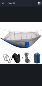 Camping Hammock with Misquito Net