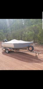 Mako craft 4.75m plate boat