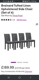 Wayfair dining chairs
