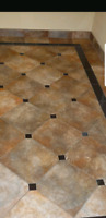 Tile Setting and wood flooring done right.