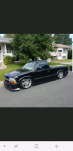 Chevrolet S10 bagged
