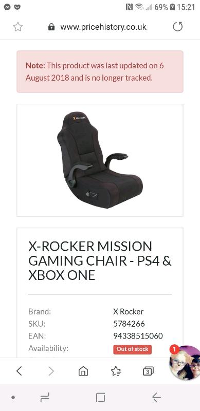 Awe Inspiring X Rocker Gaming Chair In Bishop Auckland County Durham Gumtree Uwap Interior Chair Design Uwaporg