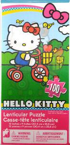 Casse-Tête, Hello Kitty, Lenticular, 100 pieces, NEUF
