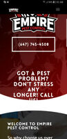 Half Price Pest Control Sale! This Week Only! Call now! Wow!