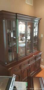 Gibbard Solid Cherry China Cabinet C