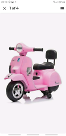 Battery Operated Vespa - Pink