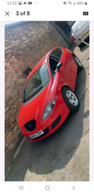 Seat Leon FR 2008 1.9TDI Manual Breaking for parts