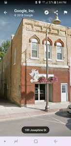 Commercial space for lease in Wingham Ontario
