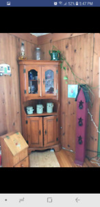 Roxton antique hutch