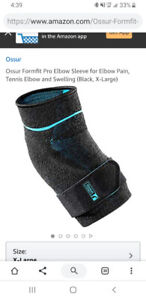 Ossur Pro Elbow Compression Sports Sleeve Large