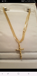 18 kt gold italian chain 20 inches 3mm from italy ! Perfect gift