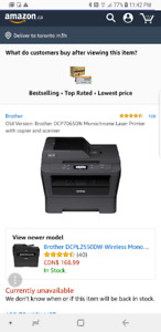 Brother printer and copier LIKE NEW BARELY USED