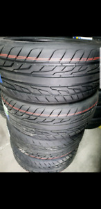 4 summer tires new 225/45t17 pneus d'ete neufs