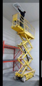 Cheap private scissor lift for rent