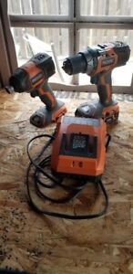 Ridgid Drill, Driver and Charger X4