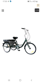 "Adult Tricycle 24"" British Racing Green"