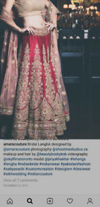 Bridal Lengha and Matching Sherwani for Sale