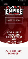 Great Service! Better Price! Pest Control