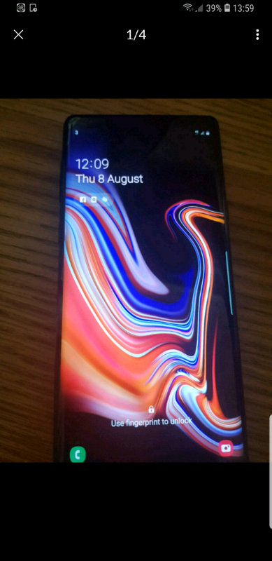 Samsung Note 9 | in Hall Green, West Midlands | Gumtree