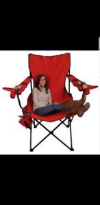 GIANT FOLDING CAMPING CHAIR
