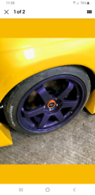 Rota 18inch alloys with tyres