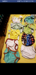 Size 1 Cloth Diapers for sale or Trade