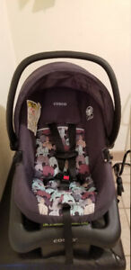 Cosco Light N Comfy Elephant Puzzle Infant Car Seat