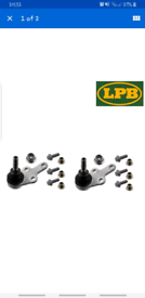 LOWER BALL JOINT PAIR FITS FORD FOCUS MK2