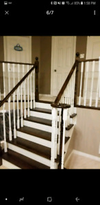 Custom refinish and rebuild your old stairs from$2000 to $6000