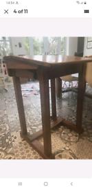 Writing desk solid oak period desk