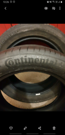 235 50 19 Matching Pair!!! Continental Conti Sport Contact 5